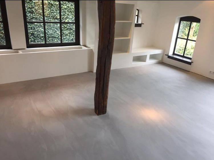 Betoon Look Vloer : Living concreet betonlook vloer